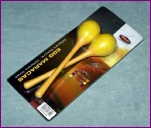 Stagg Egg Maracas Yellow