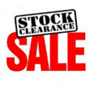 Stock Cleatrance Sale